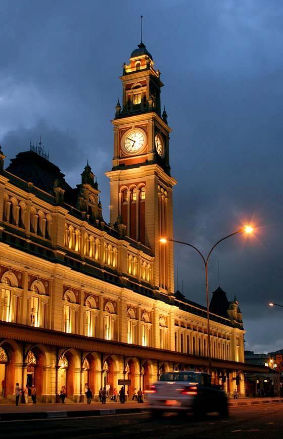 Estação da Luz, São Paulo.