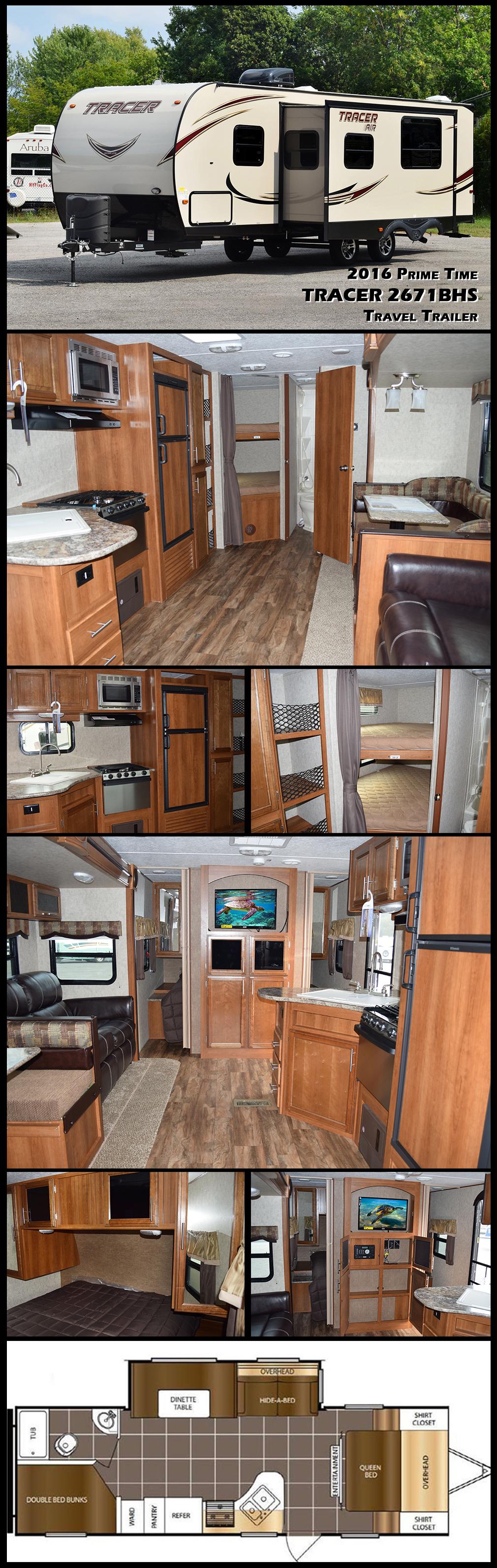2016 Prime Time Tracer T18604 Travel trailer floor