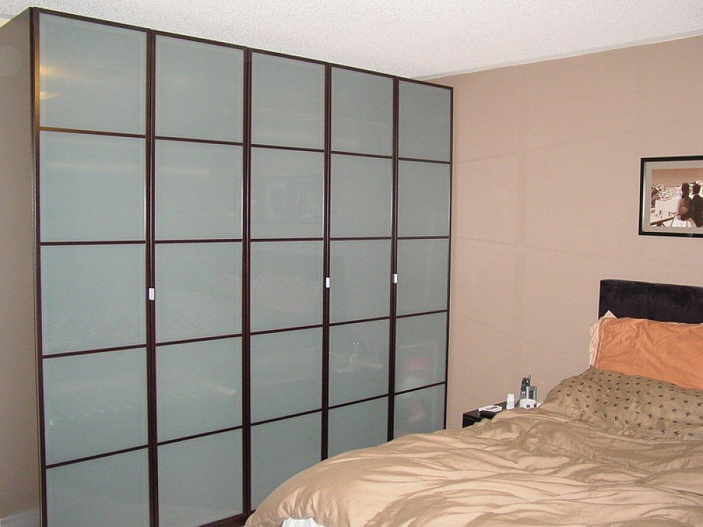 Ikea Sliding Glass Closet Doors Designs Ideas Apartment Decorating