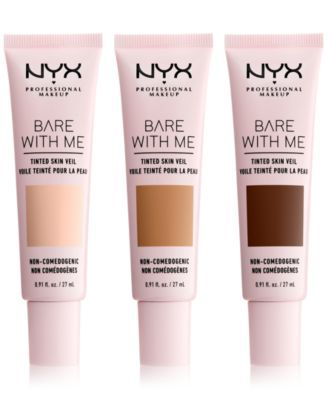 Nyx Professional Makeup Bare With Me Tinted Skin Veil Reviews Makeup Beauty Macy S In 2021 Nyx Professional Makeup Moisturizer For Oily Skin Bb Cream For Oily Skin
