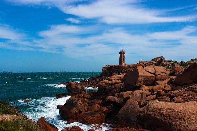 The Pink Granite Coast At Ploumanac H France Travel Travel Memories Bretagne