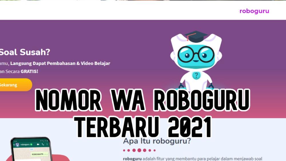 Nomor Whatsapp Roboguru Serta Cara Menggunakanya Terbaru 2021 Bakamitai Di 2021 Guru Matematika Belajar