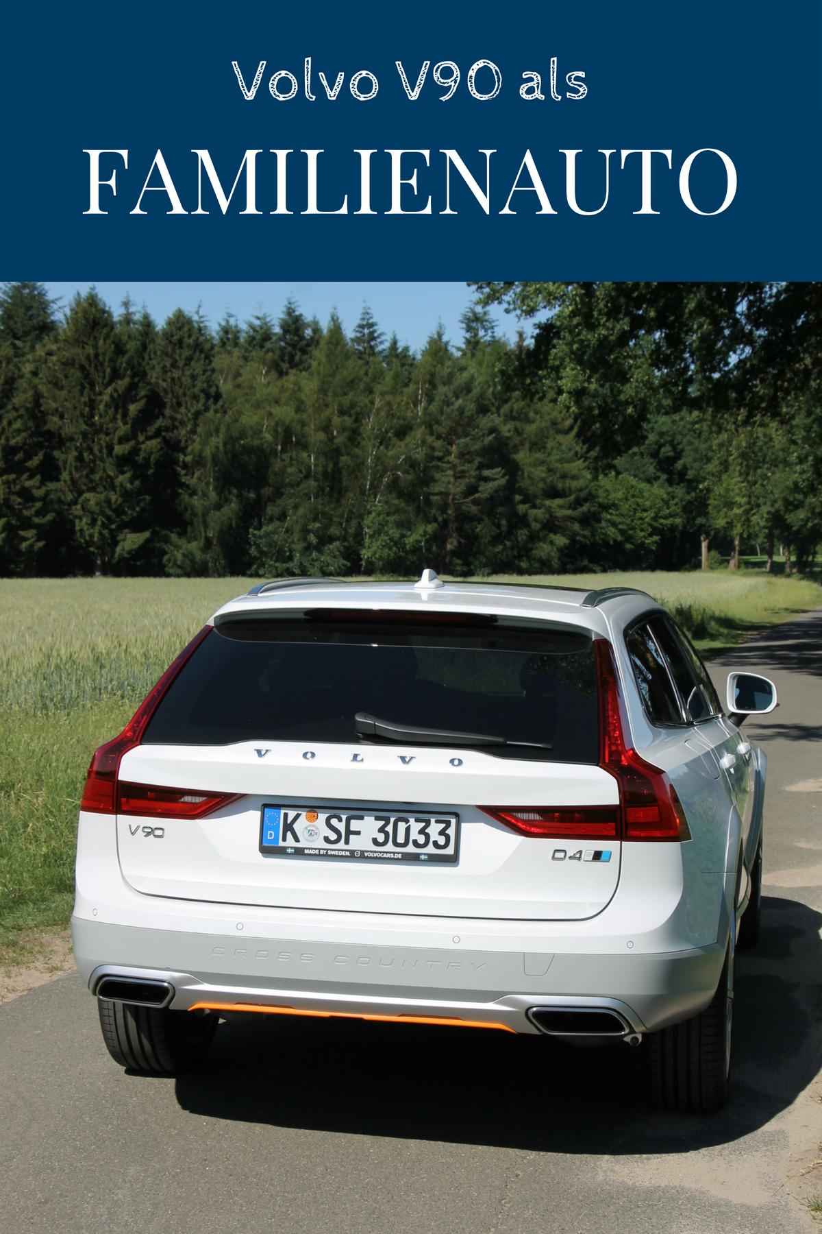 Fahrbericht Volvo V90 Cross Country Ocean Race Als Familienauto Im Test Volvo Volvo Kombi Autos