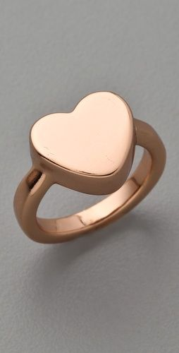 Mini Charm Heart Stacking Ring