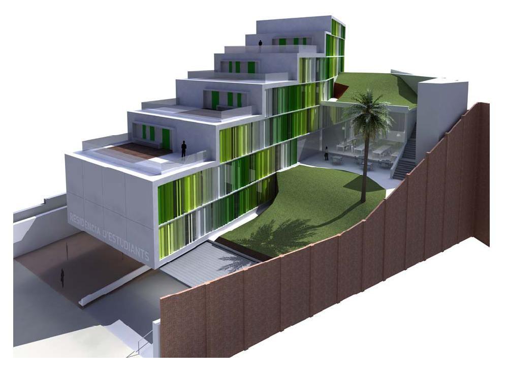 Alojamiento hotel o residencia para estudiantes en for Residencia para estudiantes