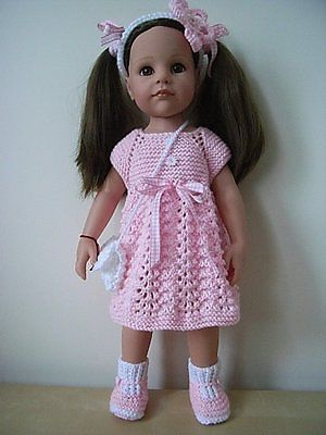 AMERICAN GIRL/GOTZ/DESIGNAFRIEND HAND KNITTED DOLLS ...