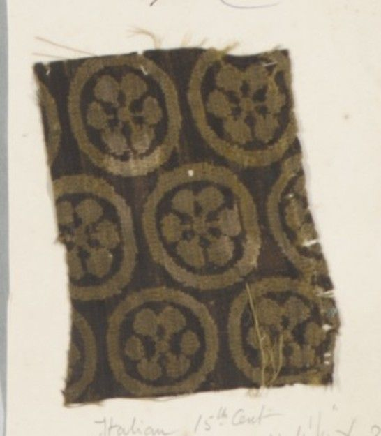 12 Century Spur of Four Points from Fragment de Manteau Woodcut for Wood Block Printing SCA