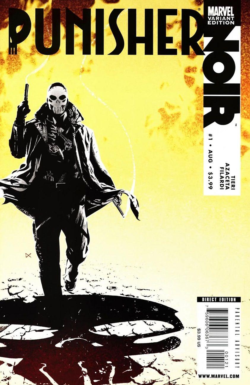 Punisher: Noir # 1 (Variant) by Dennis Calero