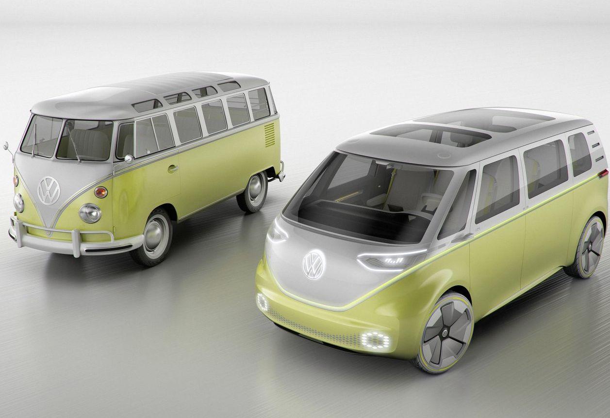 Concept car id buzz volkswagen combi