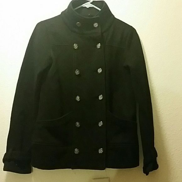 Blazer sweater Black blazer sweater! very warm and elegant for any occasion  MAKE AN OFFER! size M Sweaters Cardigans