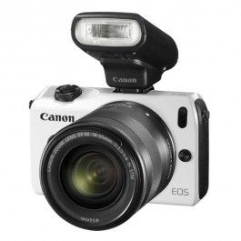Canon EOS M double kit M18-55+M22mm with 90EX Flash - White  (£299.00)  - See more at: http://www.topendelectronic.co.uk/canon-eos-m-double-kit-m18-55-m22mm-with-90ex-flash-white.html#sthash.S10YNnMQ.dpuf