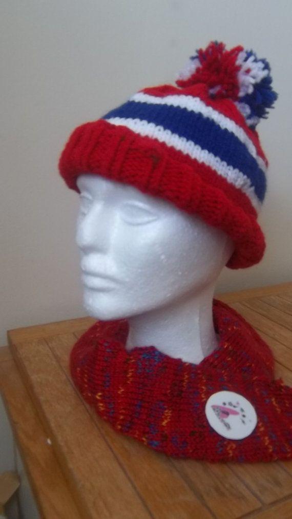 344c0d6bbc7c Tuque des Canadiens de Montréal   Tricot   Knitting, Loom Knitting ...