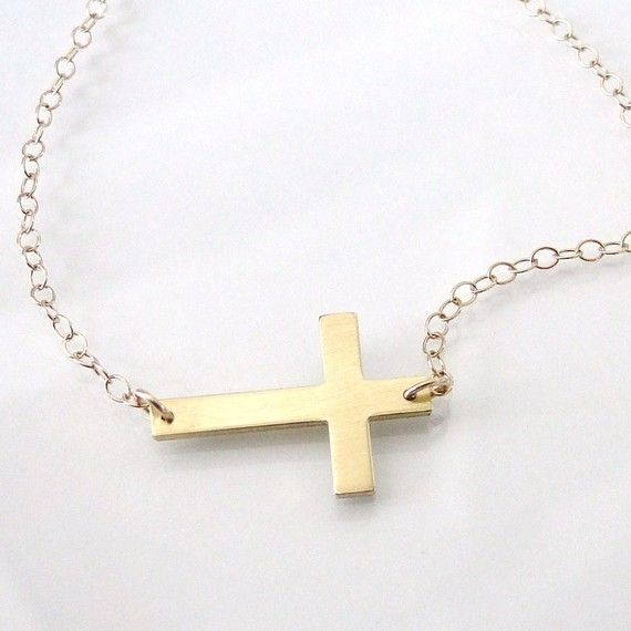 My sideways cross that I love.  Everyone tries to turn it around, but its meant to be this way!