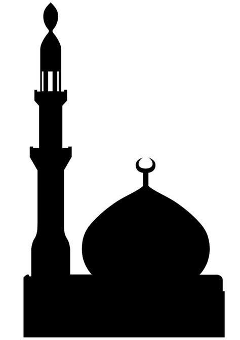 cutting sticking mosque pictures with free printable templates rh pinterest co uk mosquée png clipart mosque clipart vector free download