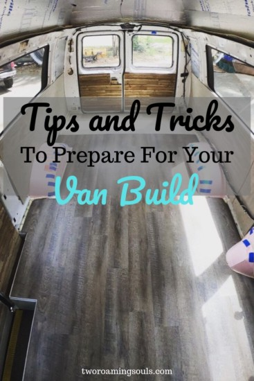 Photo of Tips and Tricks to Prepare for Your Van Build – tworoamingsouls #build #Prepare …