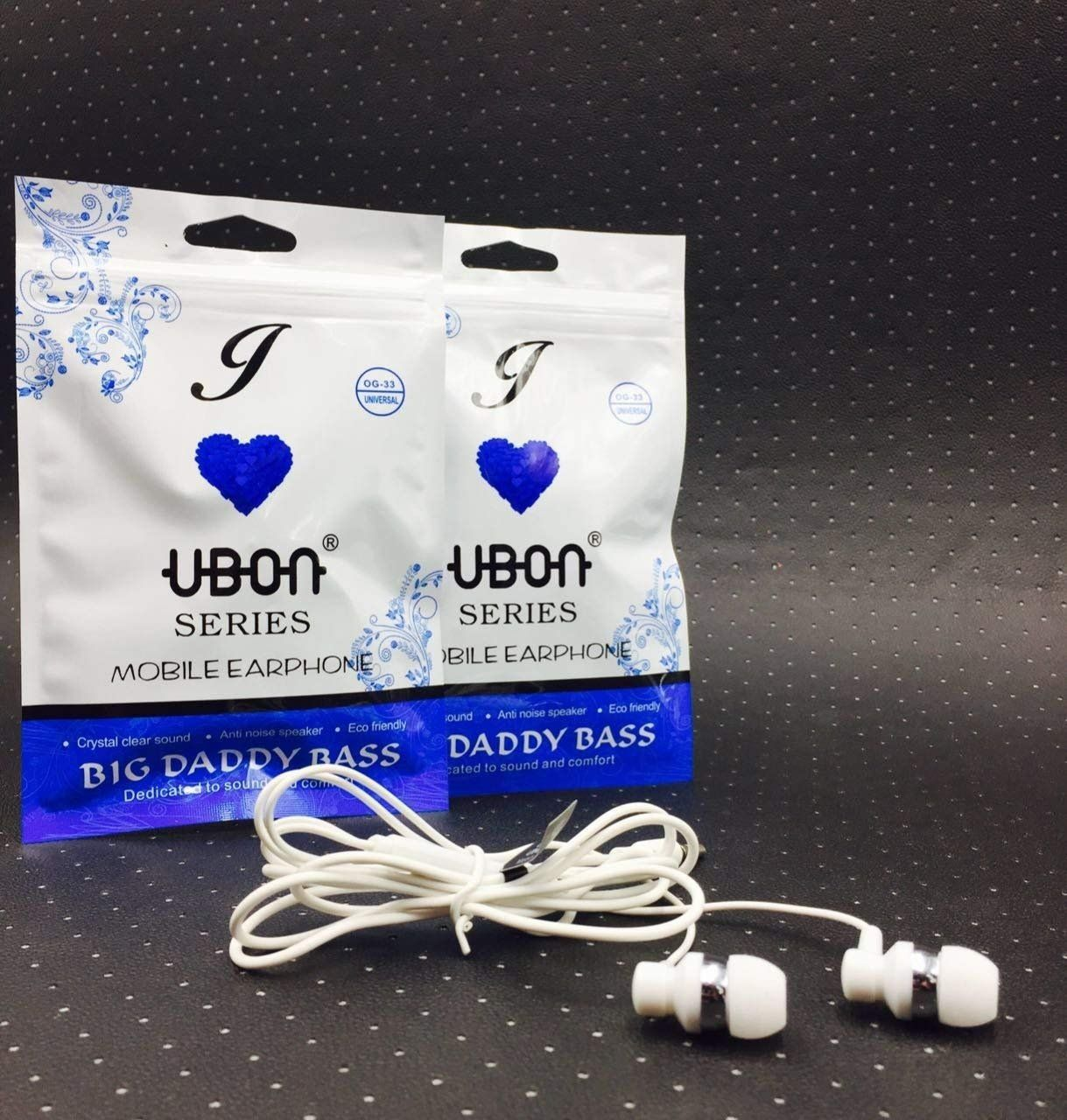 Buy Prithvi I Love Ubon Series Bass In Ear Headphones With Mic By A J Mobile Accessories At Low Prices Headphone With Mic In Ear Headphones Mobile Accessories