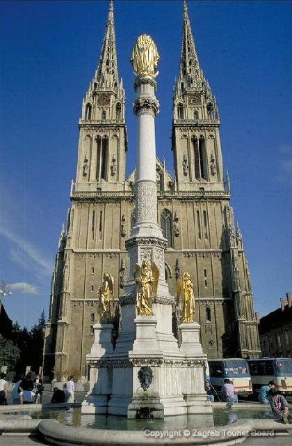 Cathedral In Zagreb Croatia Cathedrals Mostbeautifularchitecture Zagreb Croatia Zagreb Croatia