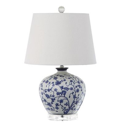 Darby Home Co Sherwood Ginger Jar 31 Table Lamp Reviews Wayfair Ca Blue And White Lamp Art Lamp Lamp