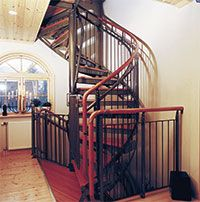 Child Proof Gate On Spiral Staircase Spiral Staircase