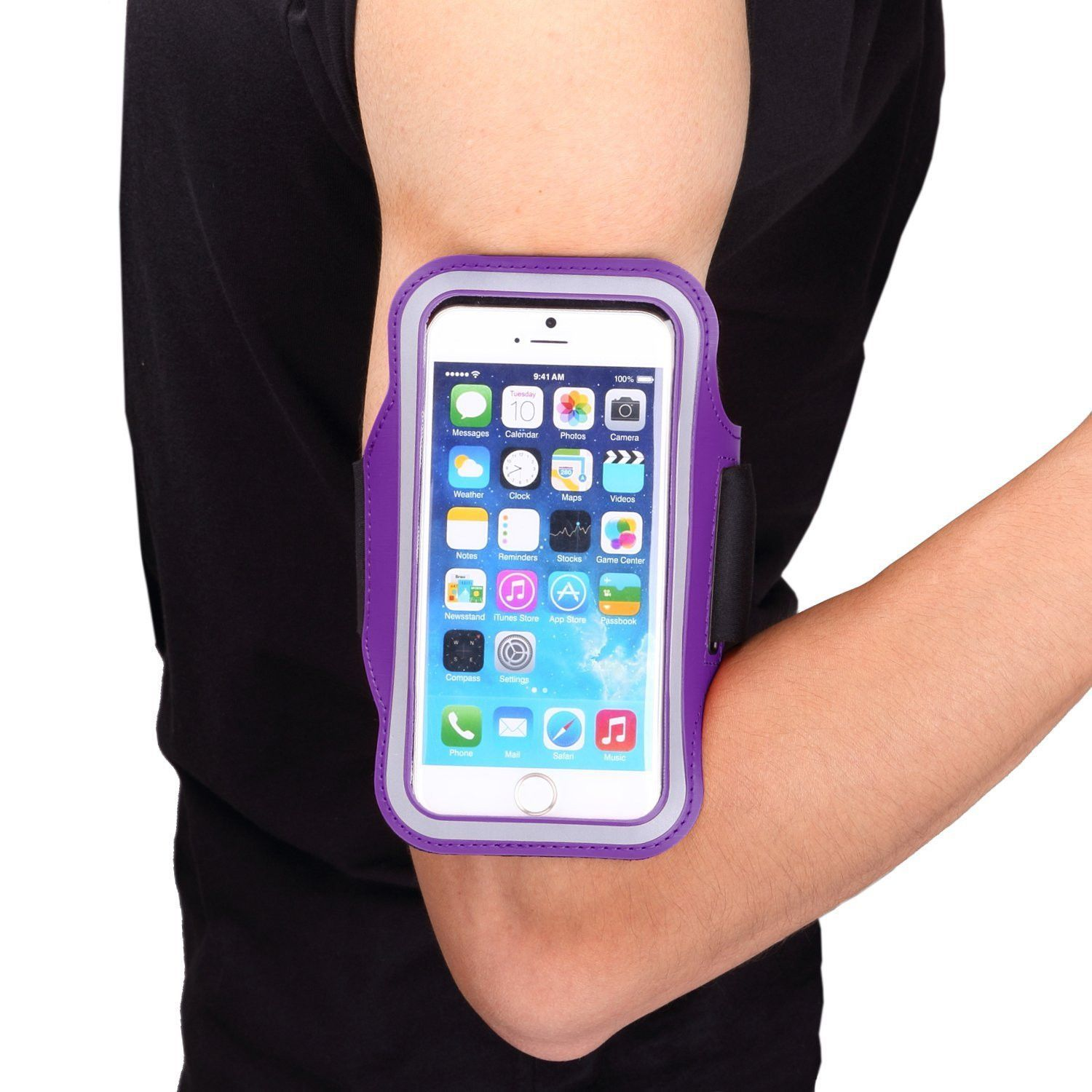iPhone 6 Plus, 6 Sporty Workout Armband in Assorted
