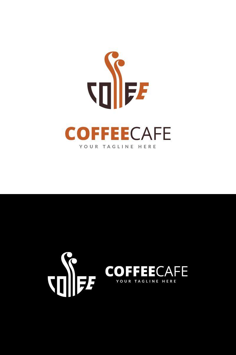 Coffee cafe logo template 68866 desain logo desain kopi