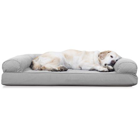Astounding Furhaven Pet Dog Bed Cooling Gel Memory Foam Orthopedic Gmtry Best Dining Table And Chair Ideas Images Gmtryco