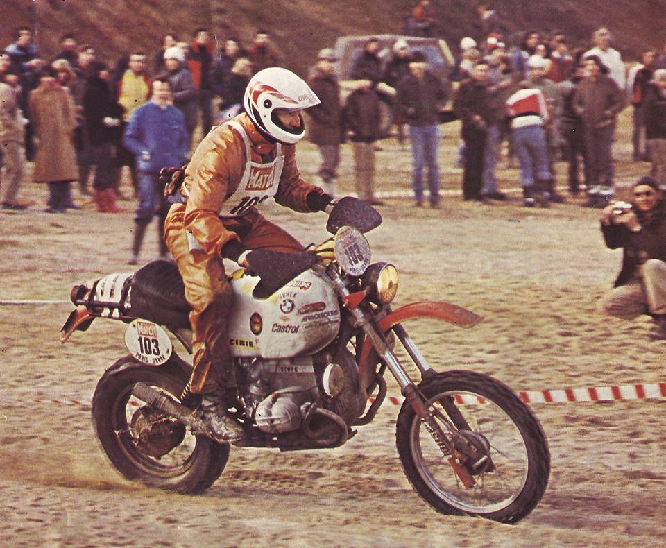 Herbert Schek - BMW R80 GS - Prologue Paris Dakar 1981  f3ee8a92b1