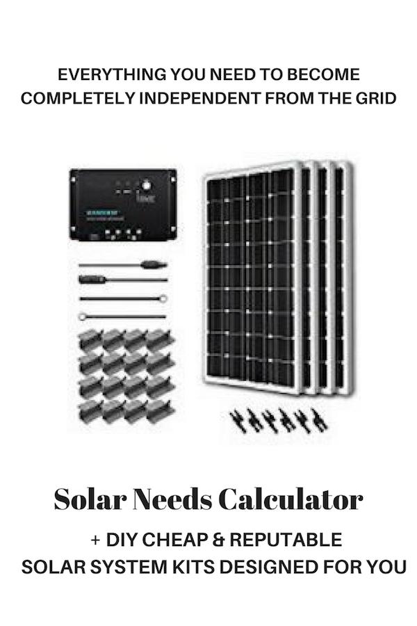 affordable rv solar panel kits
