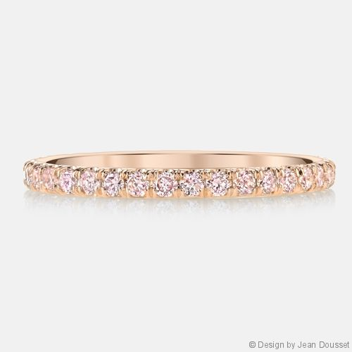 A Signature Jean Dousset Diamonds Wedding Ring Design ANGELINA PINK Is Part Of