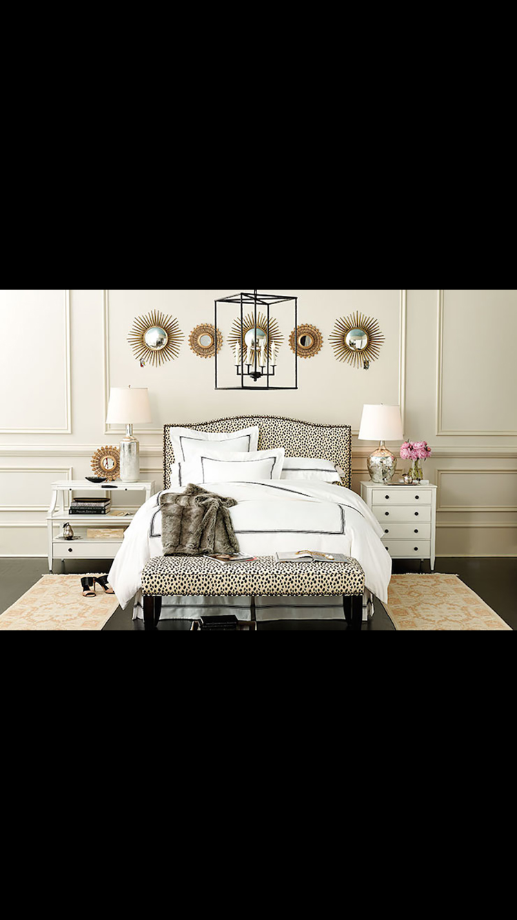Miss matched bedside tables