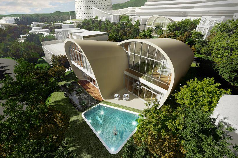 Project: Möbius House Architect: Planning Korea Location: Seoqwipo City,  South Korea Function