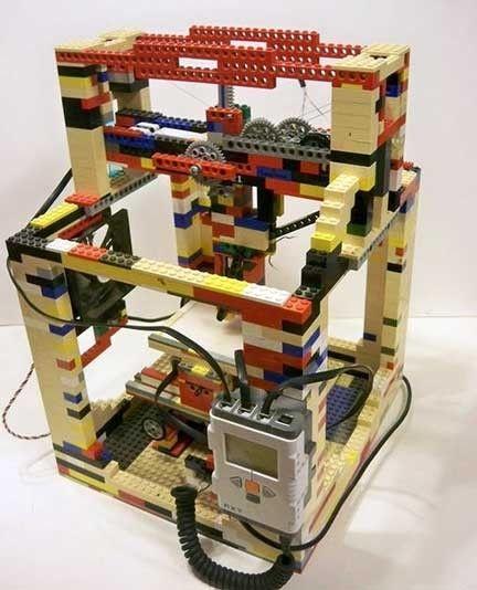 legobot 3d una impresora 3d construida con lego pinterest. Black Bedroom Furniture Sets. Home Design Ideas