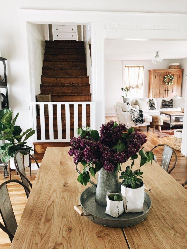 Cottage Feature The White Farmhouse Blog Home decor