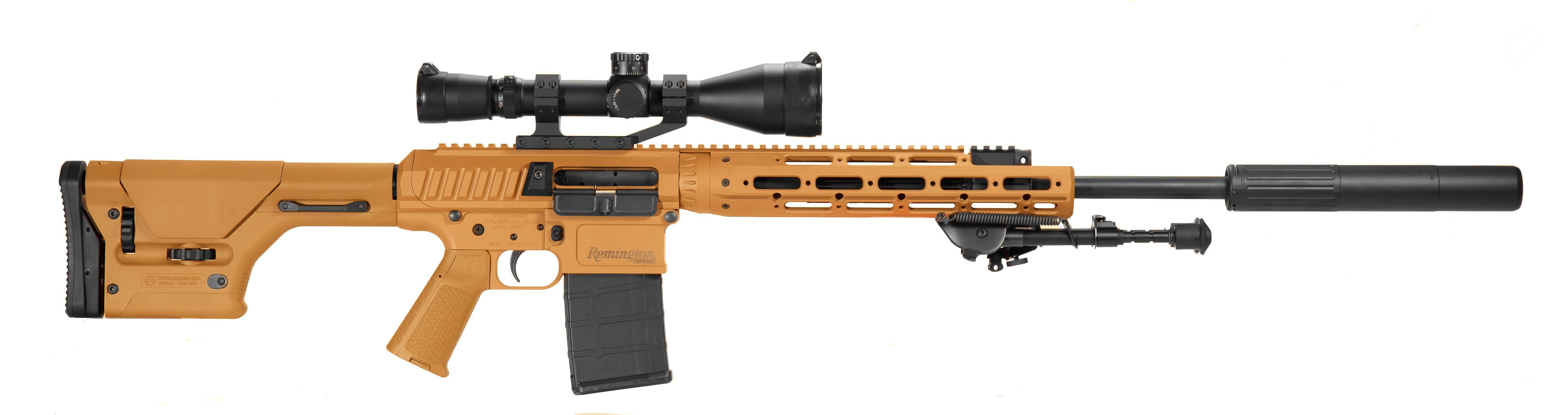 Remington Semi Automatic Sniper System | Infantry