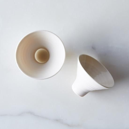Porcelain Spice Funnel: A funnel that doesn't allow for slip-ups. #food52