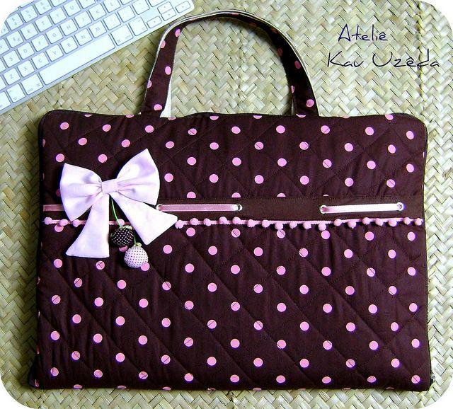 Bolsa De Tecido Para Notebook : Molde de bolsa tecido para notebook pesquisa google