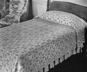 Vespers bedspread pattern 655 crochet afghan blanket throw free crochet pattern for the vespers bedspread made available by free vintage crochet dt1010fo