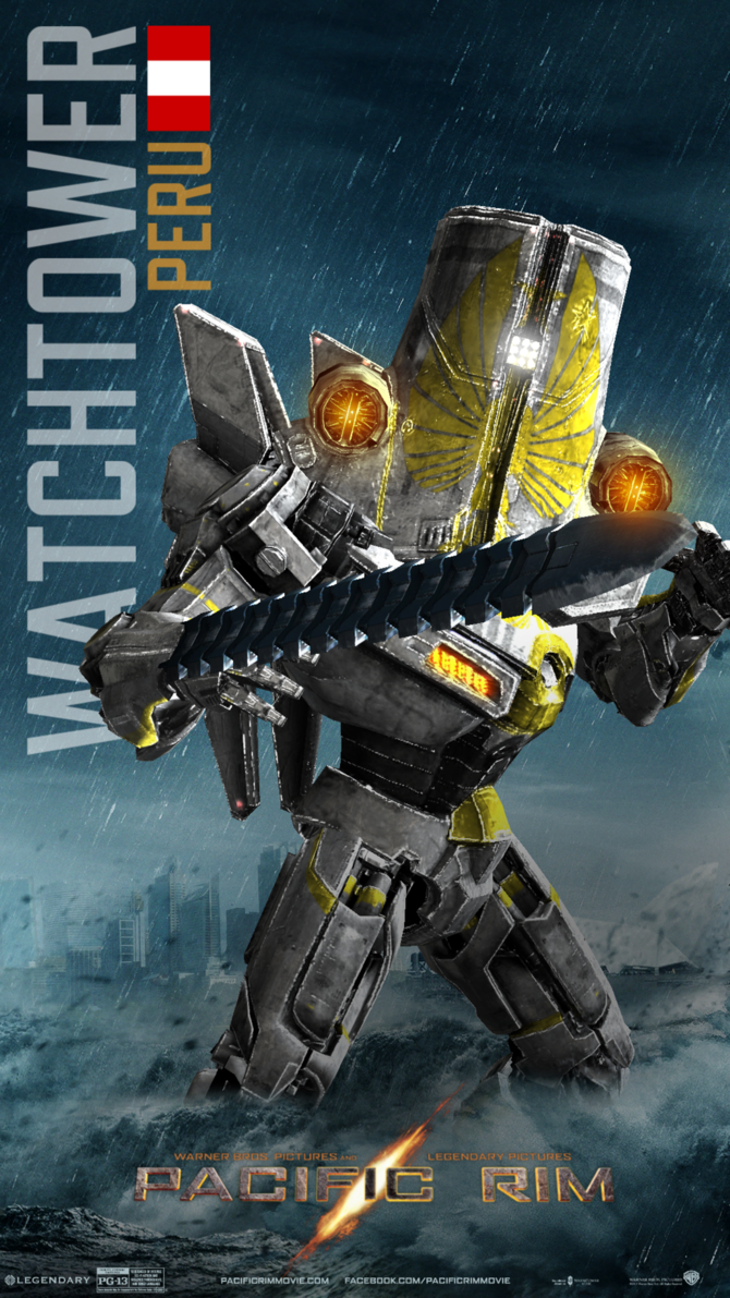 Pacific Rim - Watchtower by minanfranco on deviantART
