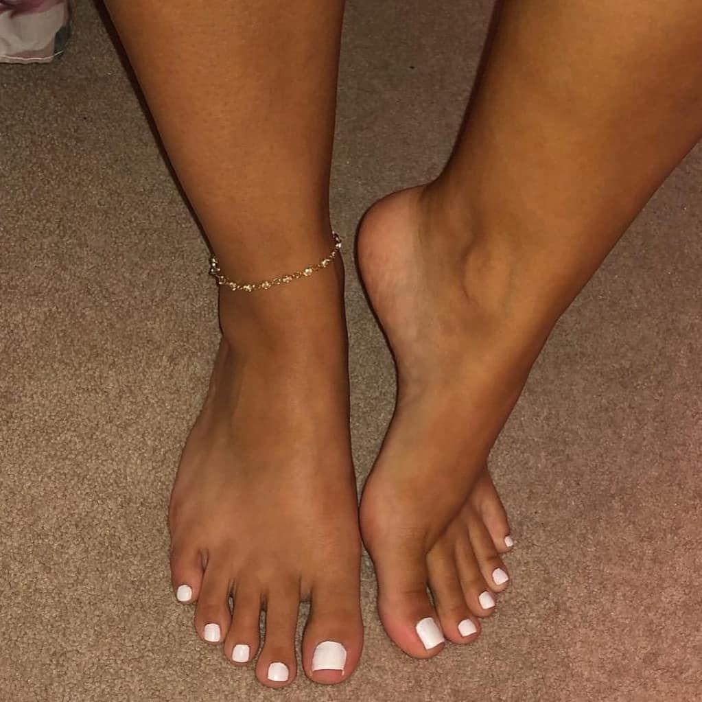 Foot model snapchat