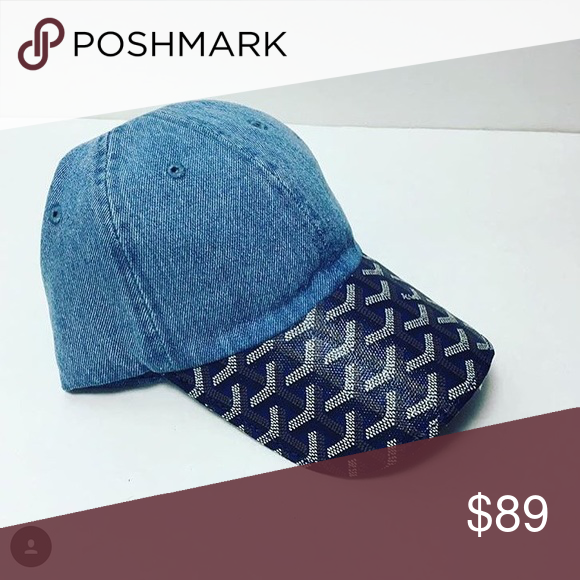 4e3a3d3a804 Goyard Blue on Blue hat What do you guys think about this Goyard  Accessories Hats