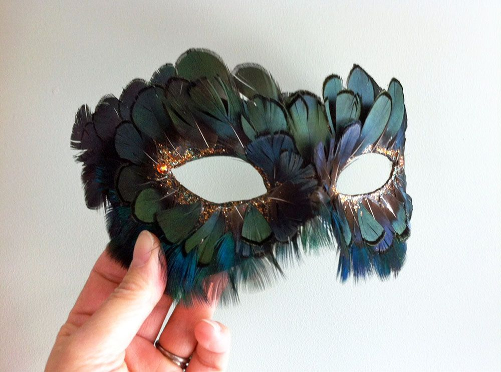 Lady Amherst and Peacock Feather Mask by DaraGallery.deviantart.com on @DeviantArt