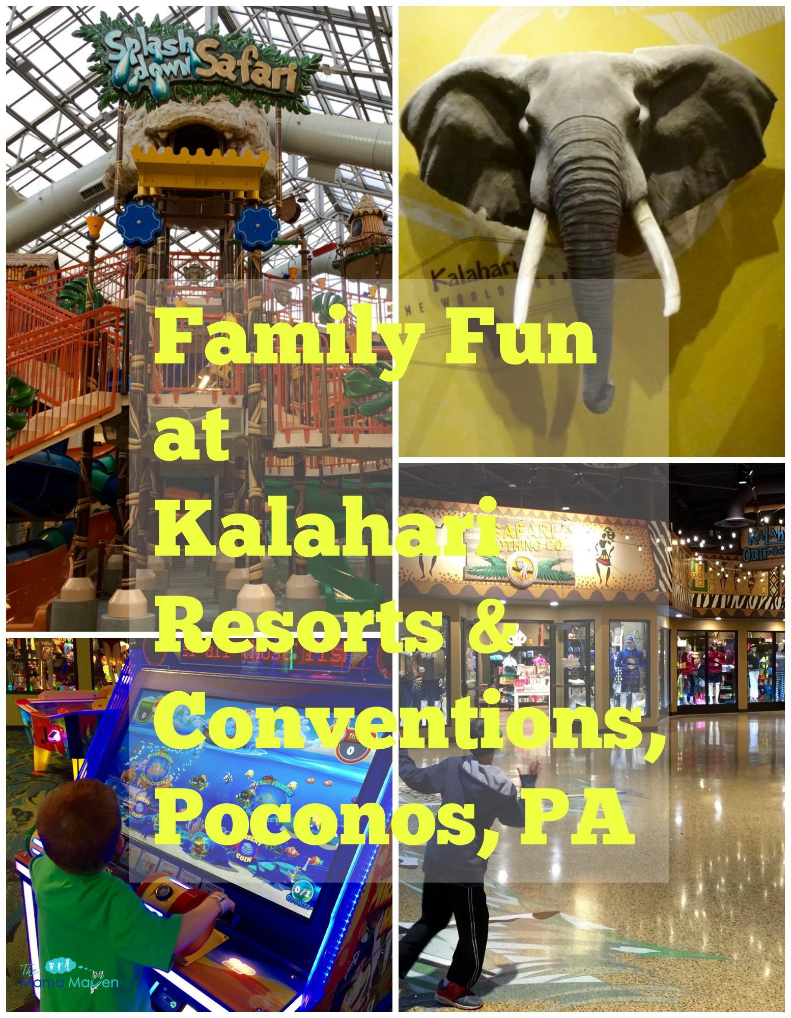 Family Guide To Kalahari Resorts, Poconos: Part 1