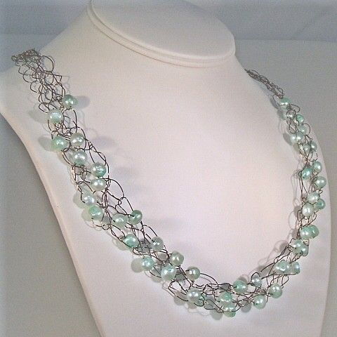 Wire And Bead Crochet Necklace Patterns About The Creative
