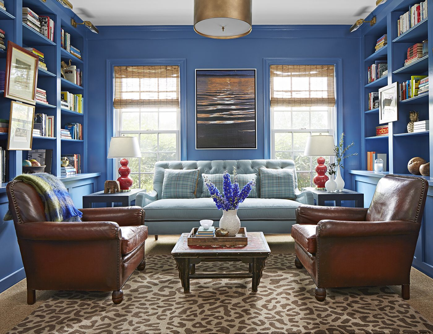 we love this home s colorful twist on modern farmhouse on modern farmhouse living room design and decor inspirations country farmhouse furniture id=79357