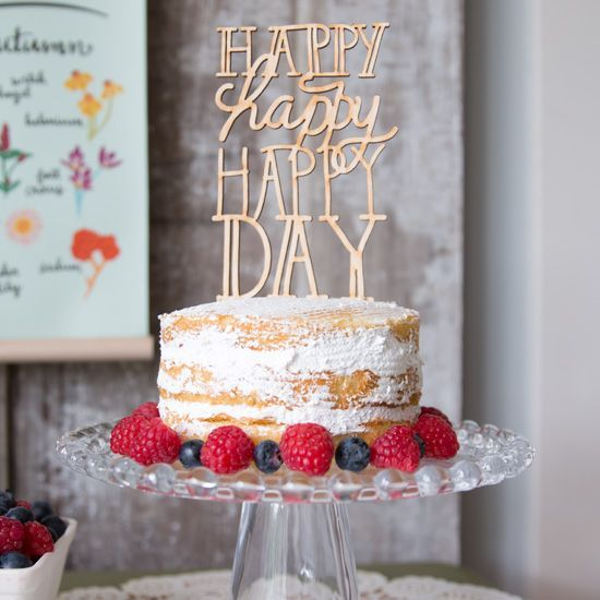 A Perfect Cake Topper For Any Celebration
