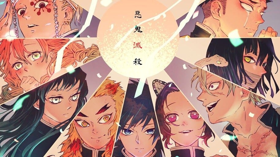 Kimetsu No Yaiba Wallpaper 4k Pc Ideas 4k Demon Slayer Anime Fan