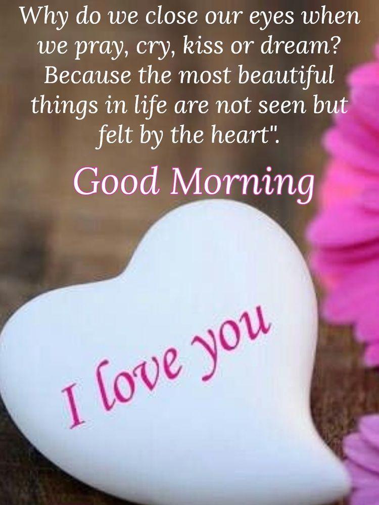 Good Morning I Hope You Are Feeling Better Today I Love You Baby Morning Love Quotes Good Morning Quotes Good Morning Love