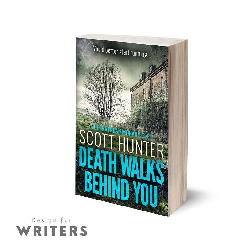 This is a new cover from one of our very first clients, Scott Hunter. He's been coming to us for cover design for several years now, and here's his latest.  For more information on book cover or web design, or just to say hi, send us an email to hello@designforwriters.com!