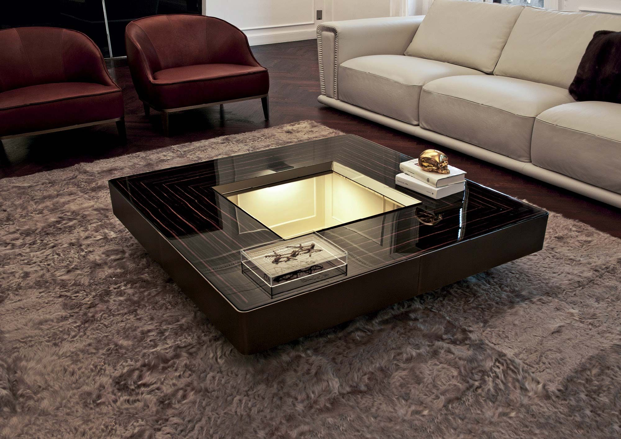 Best Modern Desgin Black Coffee Table Design With A Stunning 400 x 300