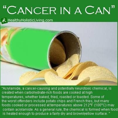 Pringles = cancer in a can?